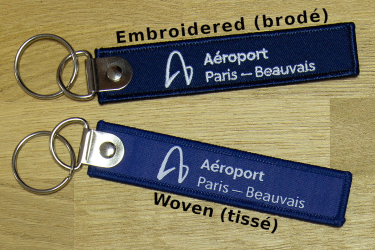 Embroidered vs Woven Keychains - Choosing The Best Keychain