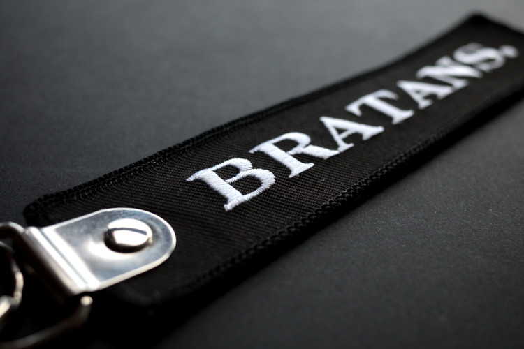 Bratans embroidery tag