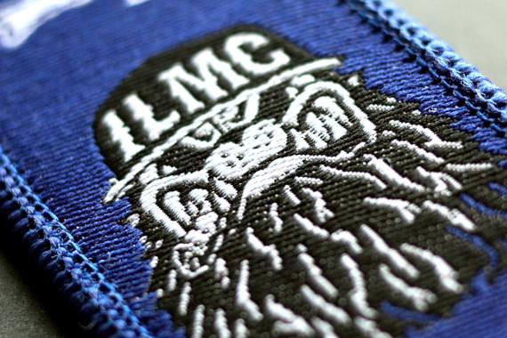 Zoom sur logo tissé ILMC