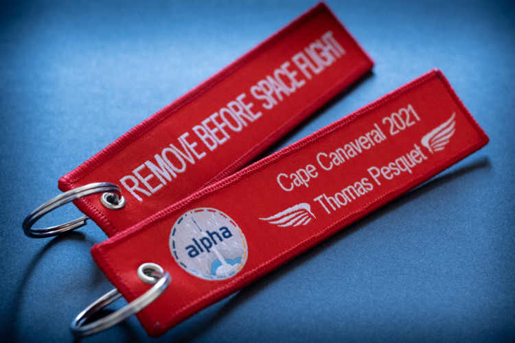 MissionAlpha's Remove Before Space Flight!